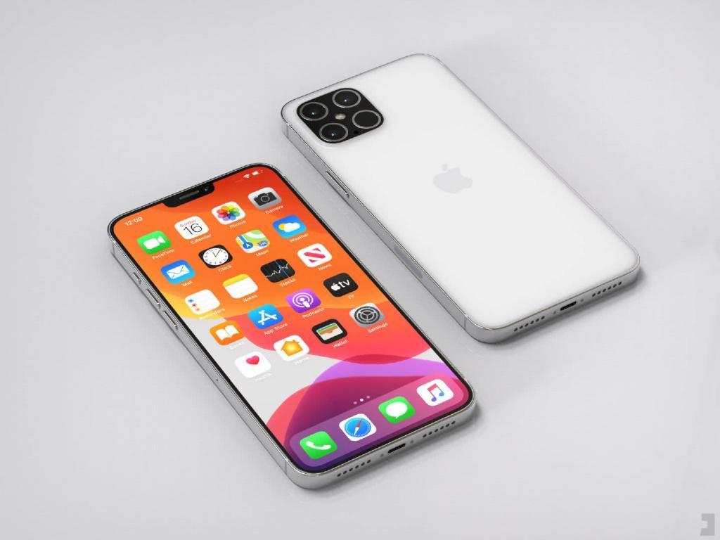 『苹果』iPhone 12一体机身曝光,棱角分明,升级幅度巨大,你看好吗?