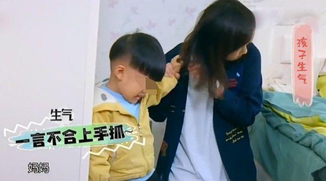 [买东西可以盘头发]孩子想买东西,妈妈拒绝后被揪头发,教育