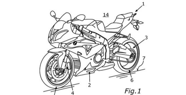 中撑落地就能充电 宝马开发电动摩托车充电方案