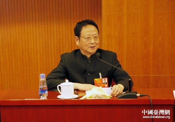 """汪毅夫:追随革命和拥护中共是台盟与生俱来的""""政治面貌"""""""