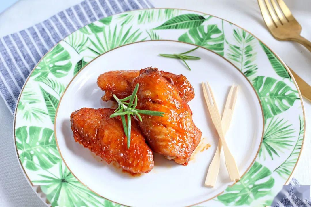 『奥尔良』最爱的奥尔良鸡翅在家就能做!外焦里嫩,好吃到哭~
