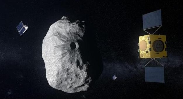 未来将有小天体靠近地球?科学家预计2022年用宇宙飞船撞它