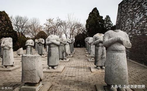 """武则天墓前的61个""""守灵人""""为何都没有首级? 网友: 这墓挖不开 - hnzzlzyno1 - hnzzlzyno1的博客"""