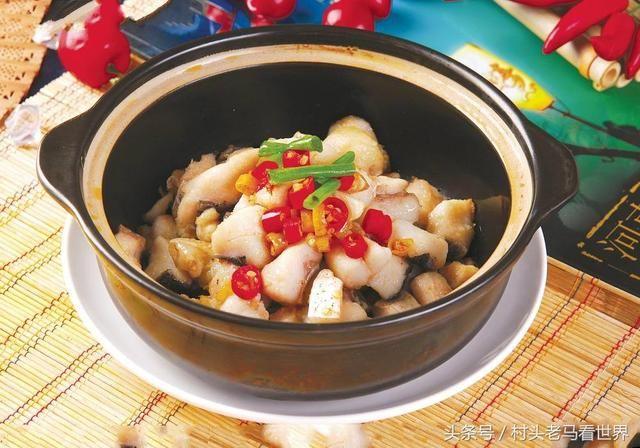 河南信阳特色菜肴:商城筒鲜鱼