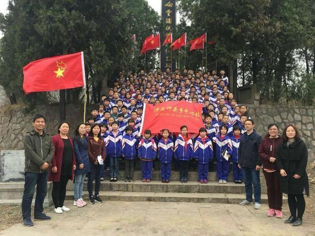 """涉县神头乡中心校聚力打造""""智慧""""文化,传承""""刘邓""""红色基因"""