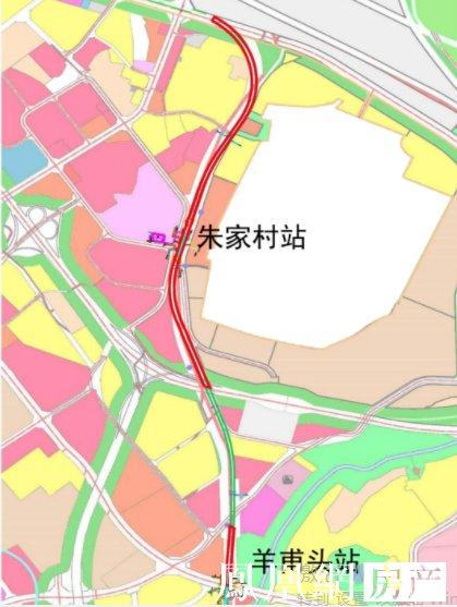 昆明地铁4号线经开区段过规开建 涉朱家村、羊甫头两站