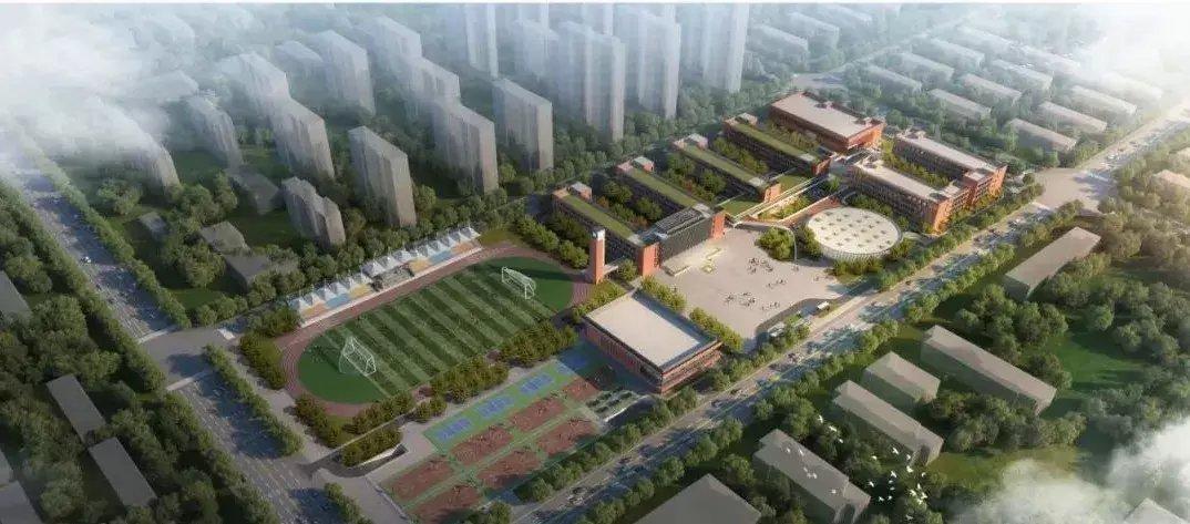【建筑工程】滨州这所新建中学开始施工招标!设小学初中72个班!