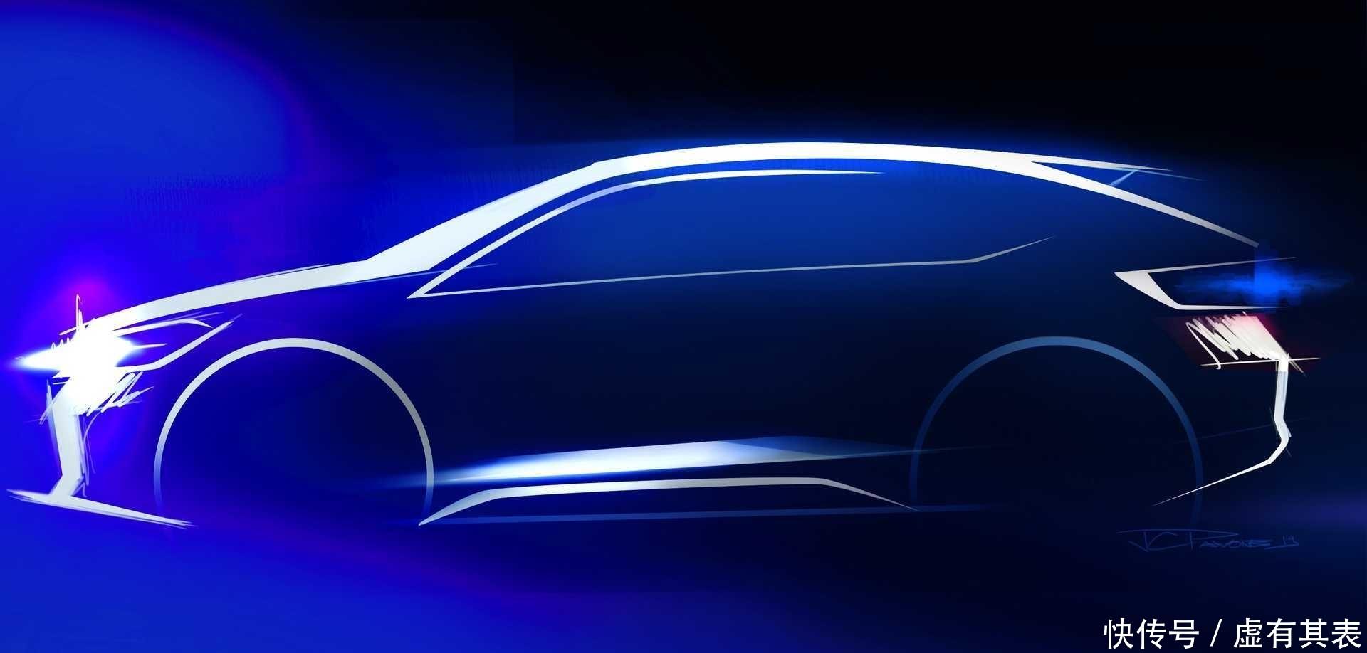 大众全新小型轿跑SUV设计理念曝光,采用很运动的外观设计