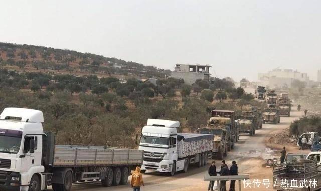 #库尔德武装#见完普京不到72小时,埃尔多安再放危险信号,大批战车开进交战区