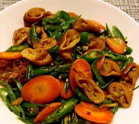 料酒@一些美味的家常菜美味可口,开胃又特别。每个人都喜欢吃