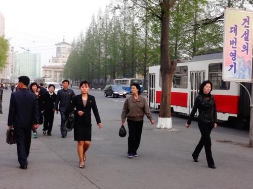 朝鲜印象:平壤百姓的日常生活画面
