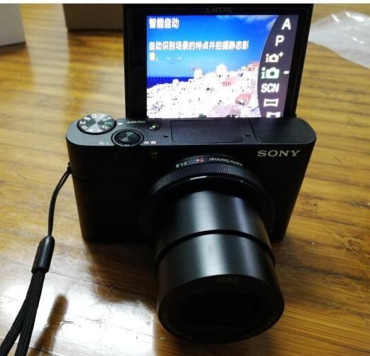 数码相机小钢炮索尼SONY RX100,1英寸大型E