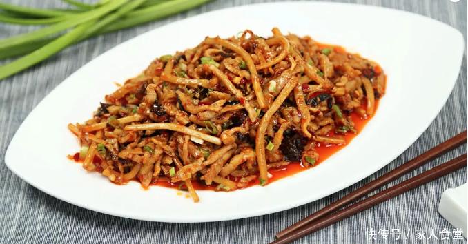 超下饭的鱼香肉丝菜,喷香开胃,好吃到汤汁都不剩!