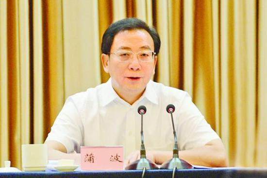 贵州原副省长蒲波一审被判无期 被控受贿7126万