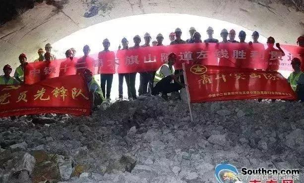 揭西最新的高速预计2019年通车,兴汕高速汕尾段最后一座隧道贯通