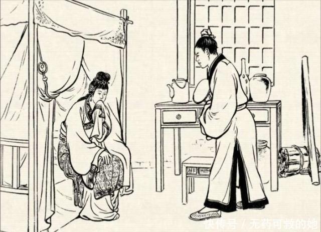 古代笑话:老公打喷嚏,回家打老婆,谁让你想我的!
