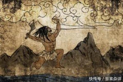 云南一幅岩画,解开了盘古起源之谜,学者:果然不是源于印度