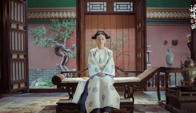 『这件』《延禧攻略》中富察皇后穿的这件衣服在正史上很有讲究的