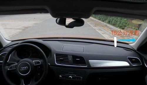 开车时找不到车轮位置怎么办?老司机教你一招,新手也能学会