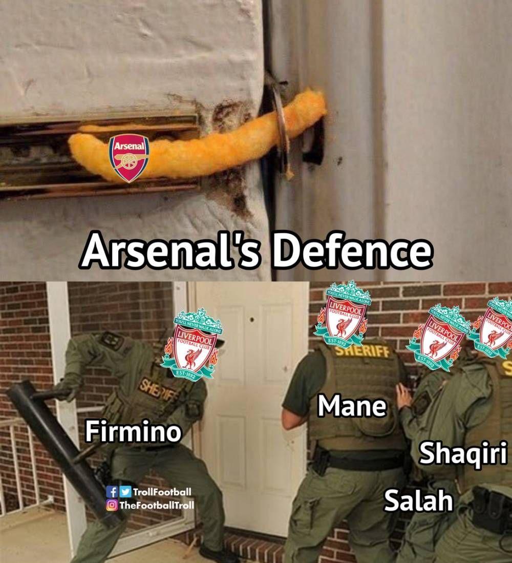 利物浦vs阿森纳球