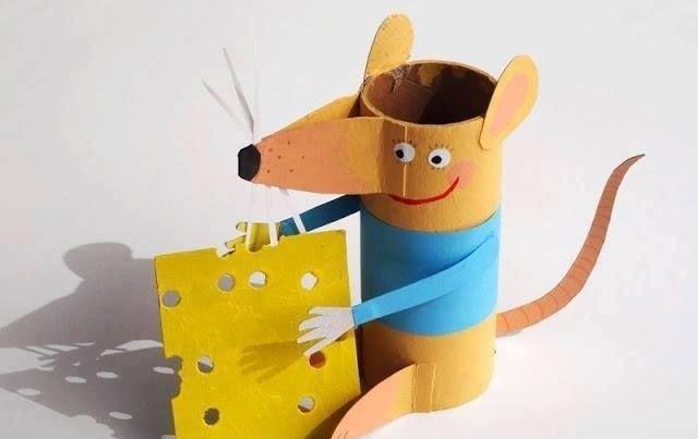 转帖:纸艺老鼠教程来了! 卡纸,折纸老鼠,你喜欢哪个 (3)