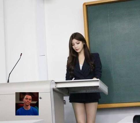 『不少』逃课率为0%的教室,只因女老师太迷人,网友:换我早考上清华
