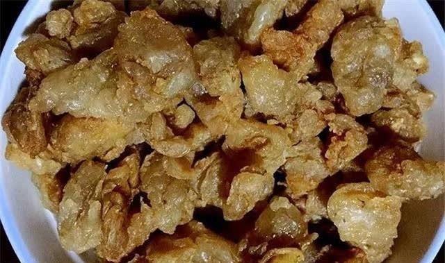 #猪油#猪油渣是儿时的回忆,满满的幸福泛起嘴角边的酥脆