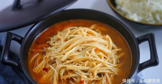 『下饭』金针菇还可以这么吃,驱寒保暖,下饭解馋,冬天吃最好