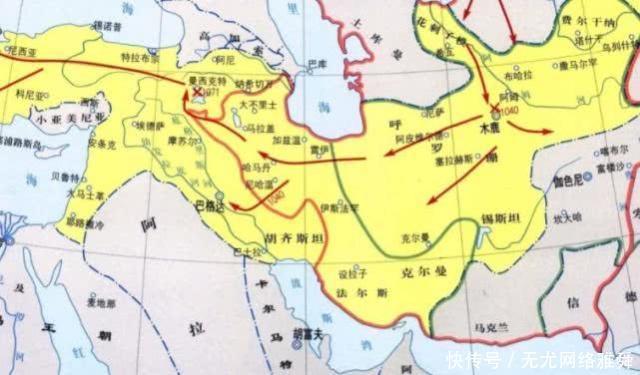 #克斯坦#成吉思汗征服的花剌子模,如今变成哪些国家足足有8个!