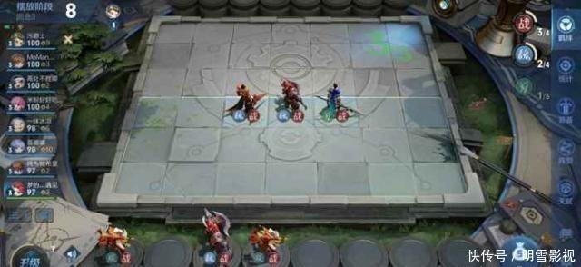 《王者模拟战》群雄羁绊登场,貂蝉带8战士组成群雄战碾压一切