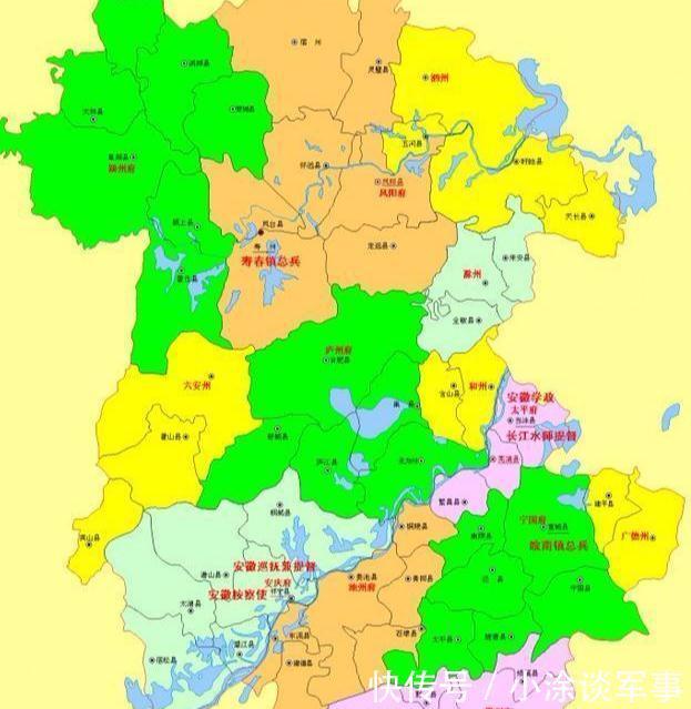 安徽行政区划三次大变革,你家乡原来属于哪里!