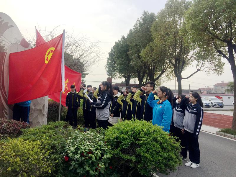 蔡甸区实验高中开展学雷锋系列活动