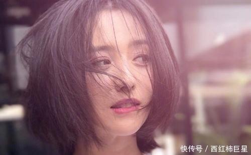 """34岁的佟丽娅剪了""""波波头"""",秒变18岁少女,看了也想剪短发!"""