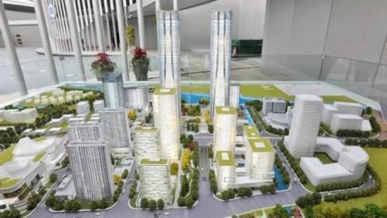"""上海320米超高层""""张江科学之门""""全面建设,建筑企业扩增订单积极复产"""
