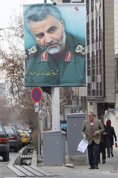 伊朗就苏莱曼尼之死向美追责