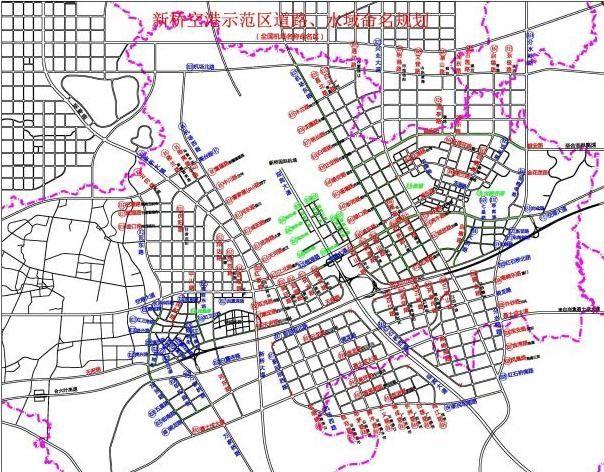 """滨湖新区有了一条""""安徽路"""" 合肥市第五批道路、水域命名方案再次公示"""