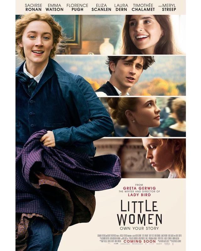 《小妇人》■新《小妇人》北美圣诞上映,罗南有望获第四次奥斯