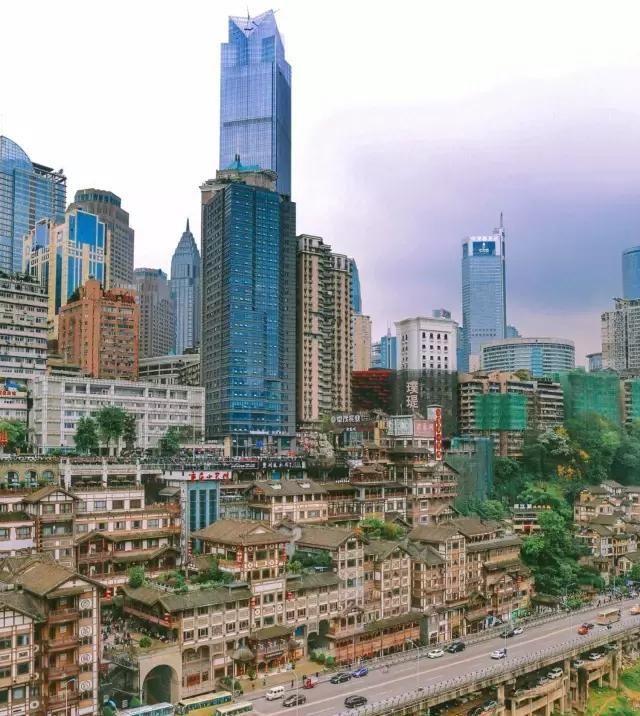 一定要看重庆这张照片!轰动了亚洲,震撼了全世界