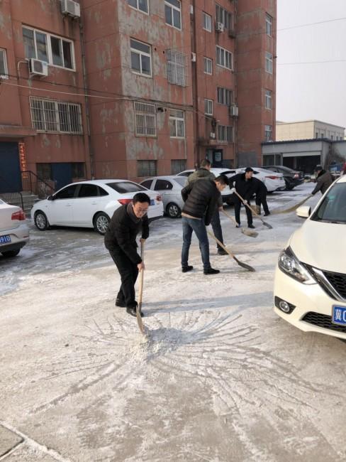 """卢龙县人民法院开展""""喜迎新春扮靓龙城""""志愿服务活动"""