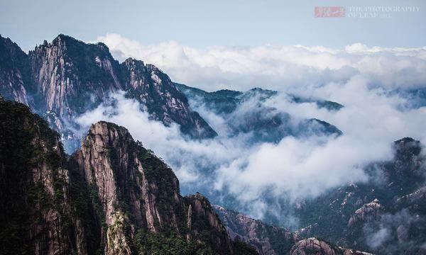 『风景』黄山最美风景不在迎客松,而在这片峡谷中,游客去的比较少