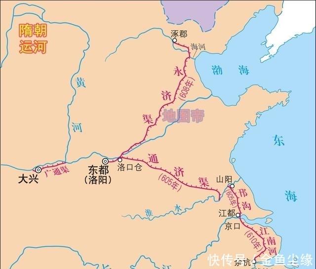 隋朝已开凿大运河,元朝为何又派郭守敬重修京杭大运河?