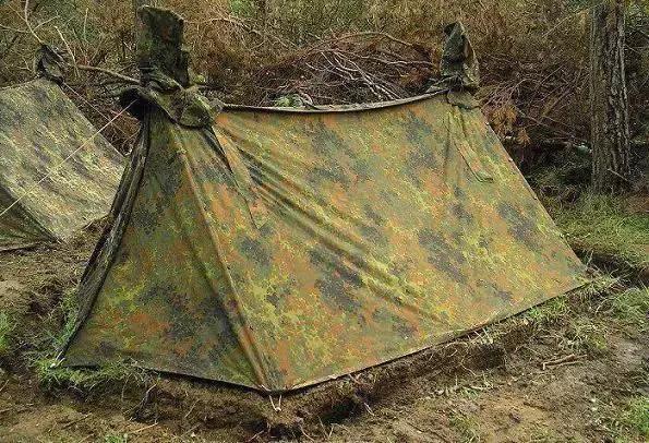 二战阵营装备争勇争先,德国帐篷的巧思妙想