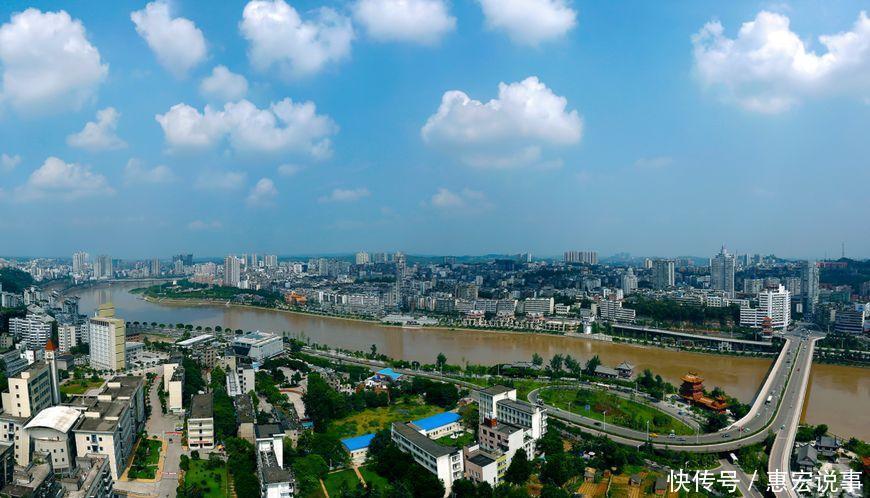 四川这个城市牛气了! 枢纽位置不亚于郑州, 未来堪比省会成都!