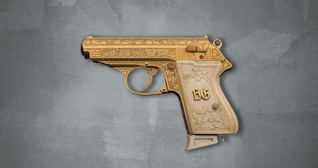 经历曲折的定制手枪,沙特王室定制,送给叛逃的萨达姆女婿,今在CIA手里