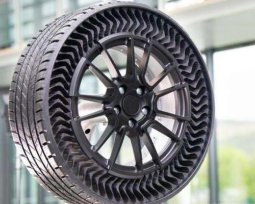 """充气轮胎将要面临""""退休"""",新型无气轮胎诞生,爆胎已成为过去式"""
