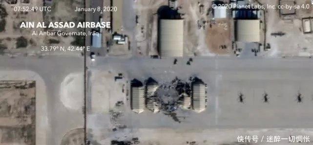 「伊朗军工」伊朗导弹袭来,美国机库粉碎,远程精确打击能力完全真实!