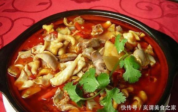 重庆特色美食,黔江鸡杂