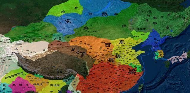 以少胜多、以弱胜强的典范:东魏、西魏五次大战略述
