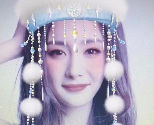 明星挑战香妃造型:杨紫赵丽颖可爱