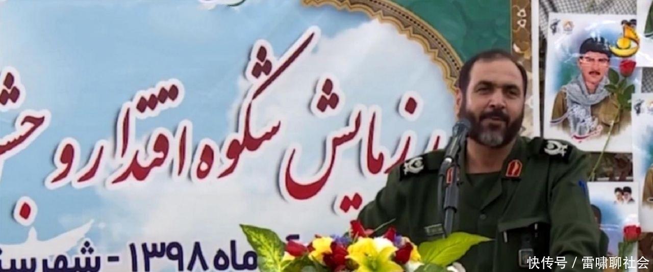 「诺罗拉希将」愈发强硬!伊朗将军公然对美警告,很少见美军面对挑衅时如此隐忍